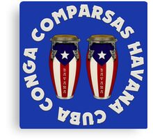 Conga  comparsas Canvas Print