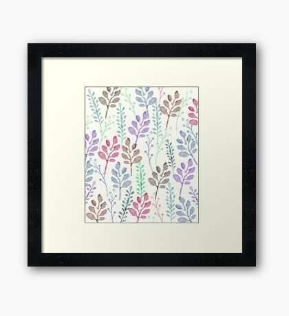 Lovely Pattern Framed Print