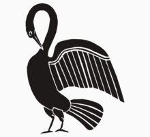 Swan One Piece - Short Sleeve