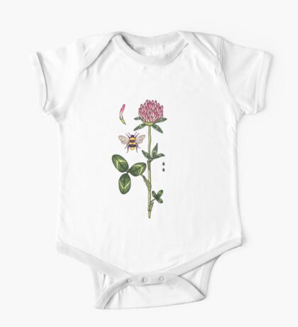 aromatic red clover One Piece - Short Sleeve