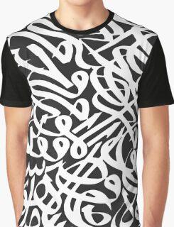 Arabic Typography Graphic T-Shirt