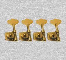 Bass golden keys Kids Tee