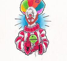 Clown Christ by Leighmen
