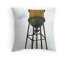 Semiahmoo Water Tower Throw Pillow