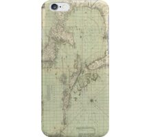Vintage Map of The Caribbean (1774) iPhone Case/Skin