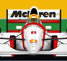 Ayrton Senna - McLaren MP4/8 Sticker