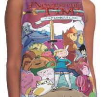 adventure time fionna and cake Contrast Tank