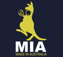 MIA - Made in Australia - YELLO One Piece - Short Sleeve