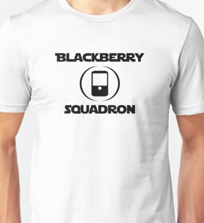 BlackBerry Squadron (Black) Unisex T-Shirt