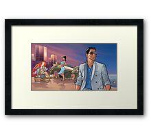 Archer Poster Framed Print