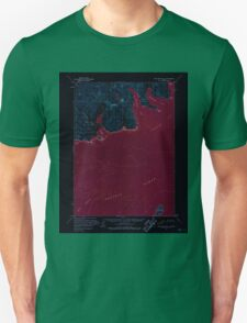 USGS TOPO Map Alaska AK Port Moller C-1 358530 1963 63360 Inverted Unisex T-Shirt