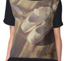 Ballet dance shoes Chiffon Top