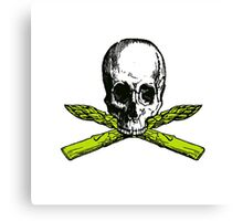 asparagus pirate Canvas Print