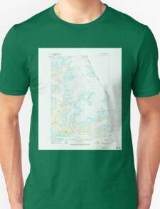 USGS TOPO Map Alaska AK Sumdum C-3 359387 1961 63360 Unisex T-Shirt