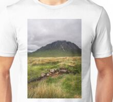 Glencoe Valley   Highlands Unisex T-Shirt