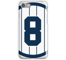 Yankees Number 8 iPhone Case/Skin