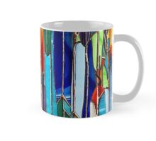 Stained Glass : Feathers Mug