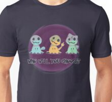 Creepy choice Unisex T-Shirt