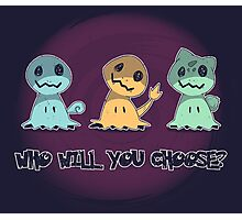 Creepy choice Photographic Print