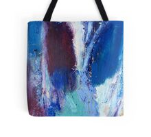 Colourful Abstract Oil Pastel Design Tote Bag