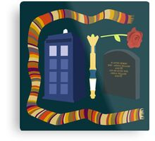 Doctor Who Metal Print