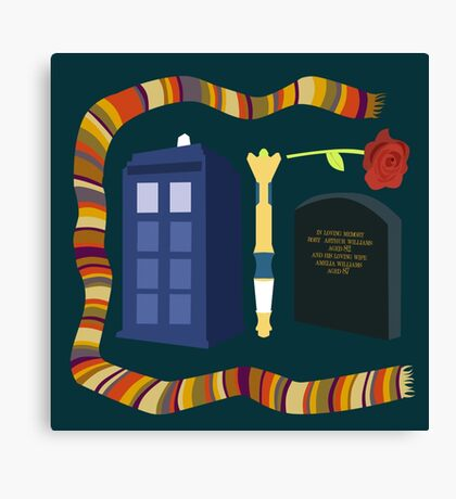 Doctor Who Canvas Print