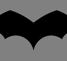 1939 - First Batman Symbol by Jaybergs