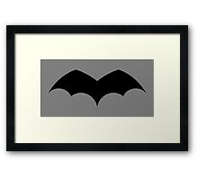 1939 - First Batman Symbol Framed Print