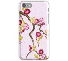 Hand-Painted Plum Blossoms Umenohana Washi Paper iPhone Case/Skin