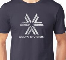 Almost Human Delta Division (White) Unisex T-Shirt