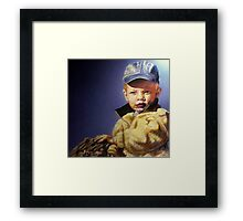 The Golden Child Framed Print