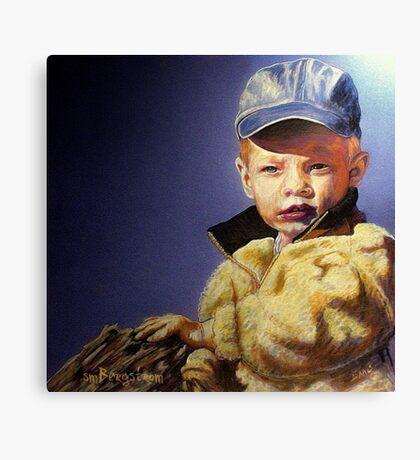 The Golden Child Canvas Print