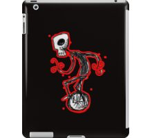 cyclops on a unicycle iPad Case/Skin
