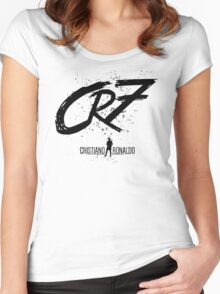 -SPORTS- CR7 Women's Fitted Scoop T-Shirt
