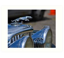 1947 Jaguar 3-1/2 Litre Roadster Art Print