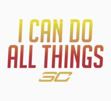 I can do all things - FIRED UP! #1 One Piece - Short Sleeve