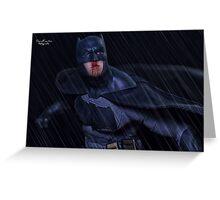 Batman Blood Greeting Card