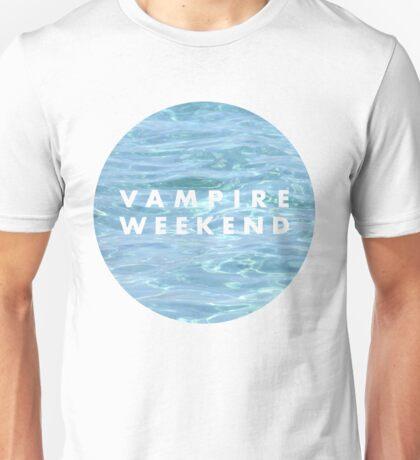 Water Vampire Weekend Logo Unisex T-Shirt