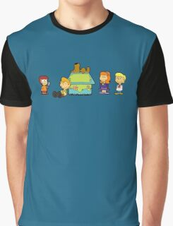 Shaggy Brown and The Scooby Crew  Graphic T-Shirt