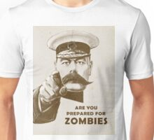 Prepare for Zombies! Unisex T-Shirt