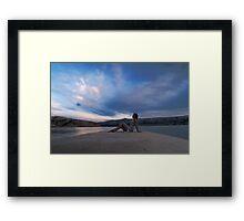 Blue skies Framed Print