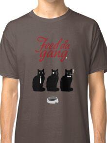 Feed da gang of cats Classic T-Shirt