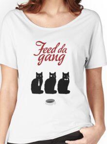 Feed da gang of cats Women's Relaxed Fit T-Shirt