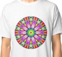 Colourful Flower Mandala Classic T-Shirt