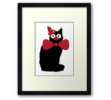 The clown cant and the circus life Framed Print