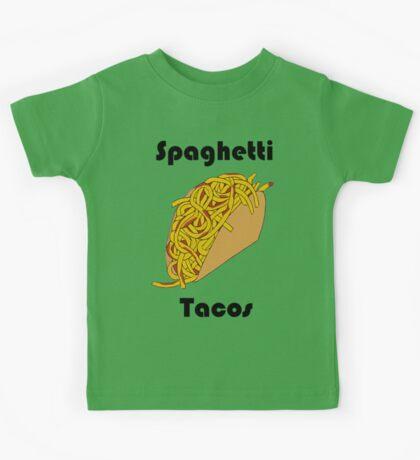 Spaghetti Tacos 2 Kids Tee