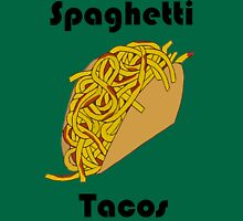 Spaghetti Tacos 2 Womens Fitted T-Shirt