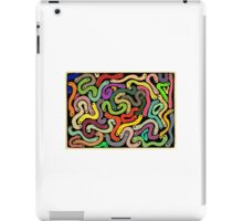 Many Worms - Retro Colours iPad Case/Skin