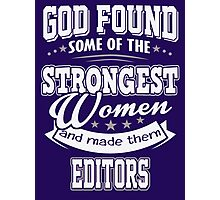 JOB - The Strongest Women - Editors T - shirt - Special design Photographic Print