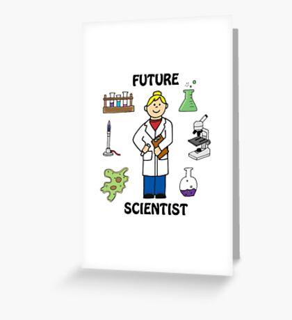 Future Scientist - Girl Light Greeting Card
